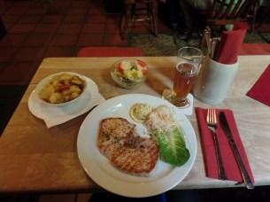 Schnitzel from Bräuburger!