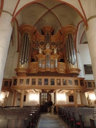Arp Schnitger organ (rest. Ahrend, 1989-93), Hauptkirche Sankt Jacobi, Hamburg