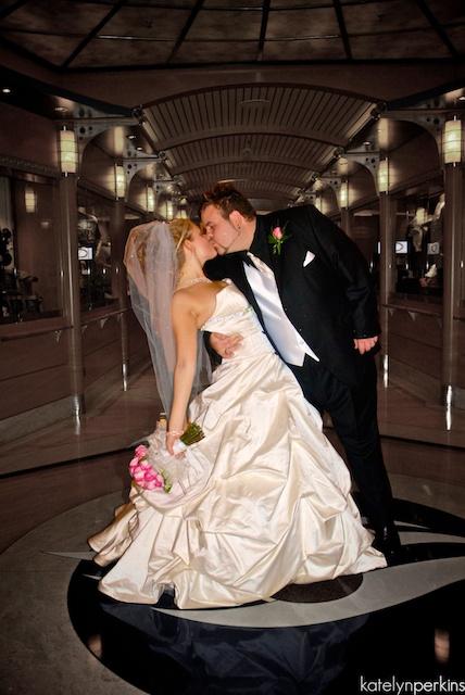 Hallway Kiss
