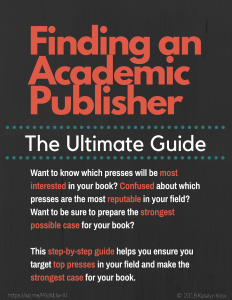 Finding an Academic Publisher The Ultimate Guide