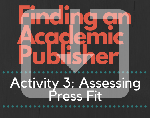 Finding an Academic Publisher_The Ultimate Workbook_Activity 3 Image