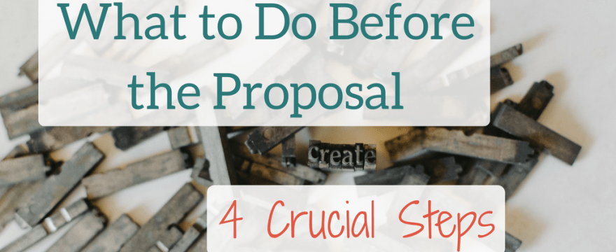 What To Do Before Writing an Academic Book Proposal: 4 Crucial Steps