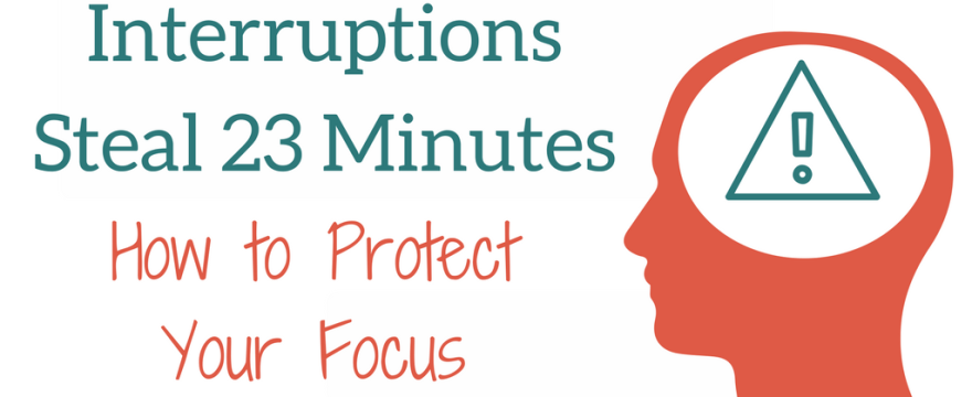 Professors: How to Protect Your Focus, Fight Interruptions and Curb Digital Distractions