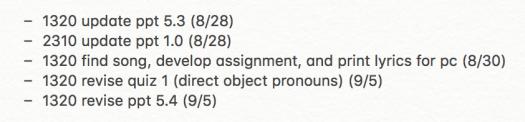 Teaching Prep To do week of 8.26