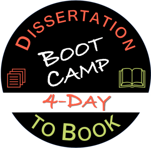 summer intensive dissertation to book boot camp logo