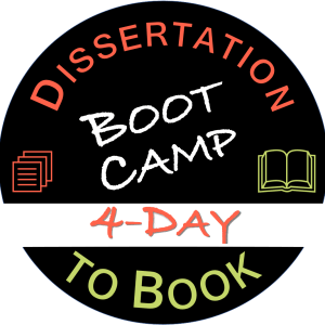 summer intensive dissertation to book boot camp logo