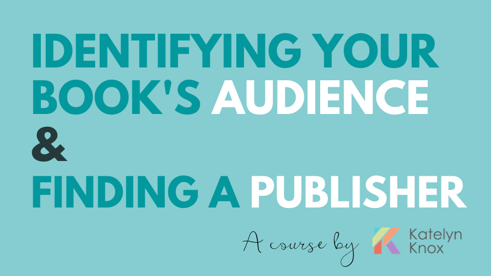 Identifying your book's audience and Finding an Academic Publisher
