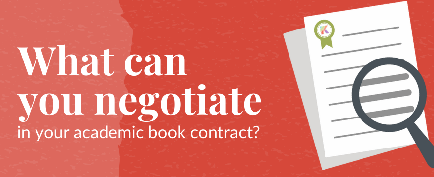 What Can You Negotiate in Your Academic Book Contract?