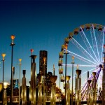 ferris wheel, Melbourne, Victoria, Birrarung Marr, kate mccombie, photographer