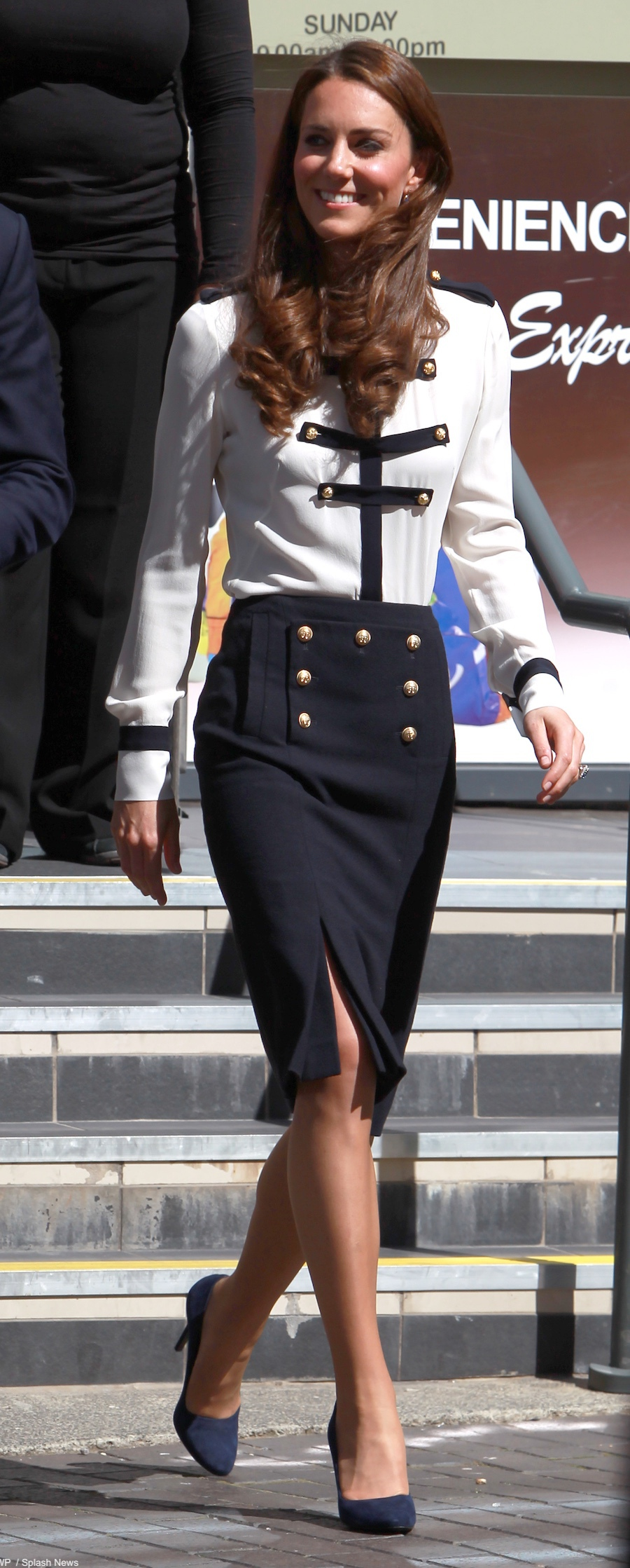 Kate Middleton's Alexander McQueen outfit in Birmingham (2011)