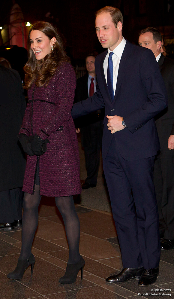 William and Kate visit New York!