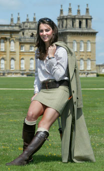 Kate Middleton wearing Penelope Chilvers Boots