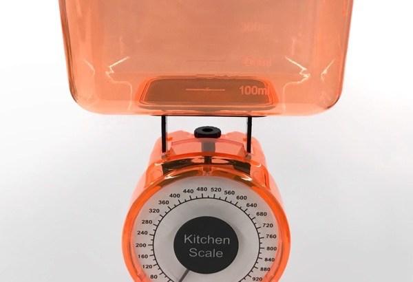 100均の『キッチンスケール』が洗えて水も計れて便利!