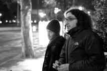DoP Lorenzo Levrini with VFX co-ordinator Jon Pugh