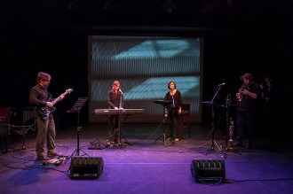 2013 RPM Electro performs The Open Road -Theater Dakota - October 2013 with Pete Harden, Kate Moore, Michaela Riener and Marc Kaptijn
