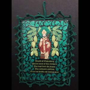 St. Arnold (Patron of Beer Brewers) Retablos
