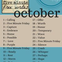 is calling overrated? {day 1 :: calling}