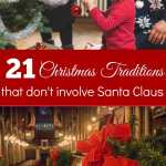 21 Christmas Traditions That Don't Involve Santa Claus