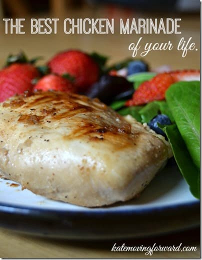 The Best Chicken Marinade of Your Life