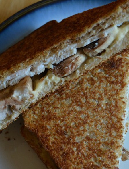 Turkey and Mushroom Sandwich
