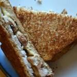 Grilled Turkey and Mushroom Sandwich