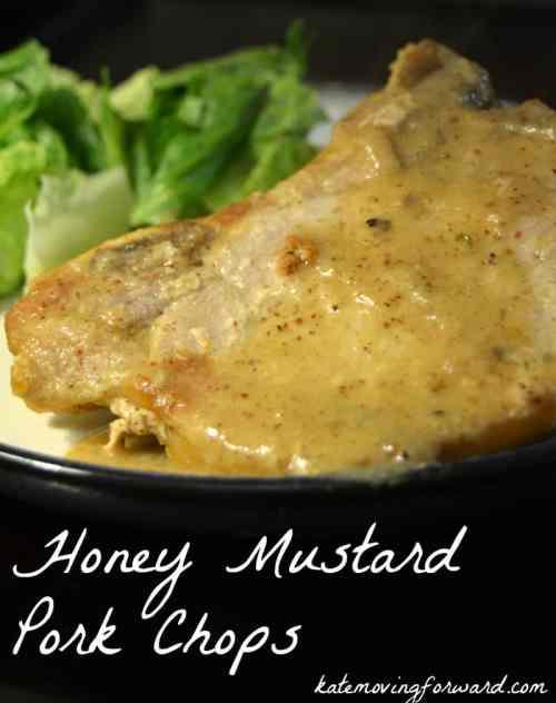 Healthy Recipe Honey Mustard Pork Chops