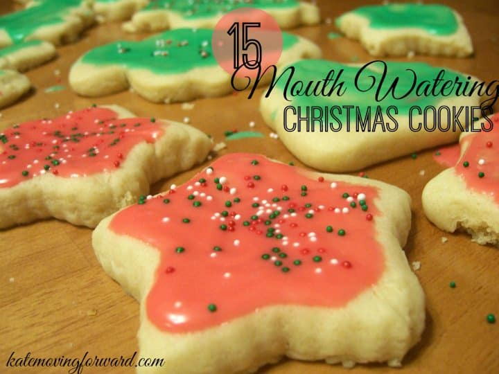 15 Mouth Watering Christmas Cookies