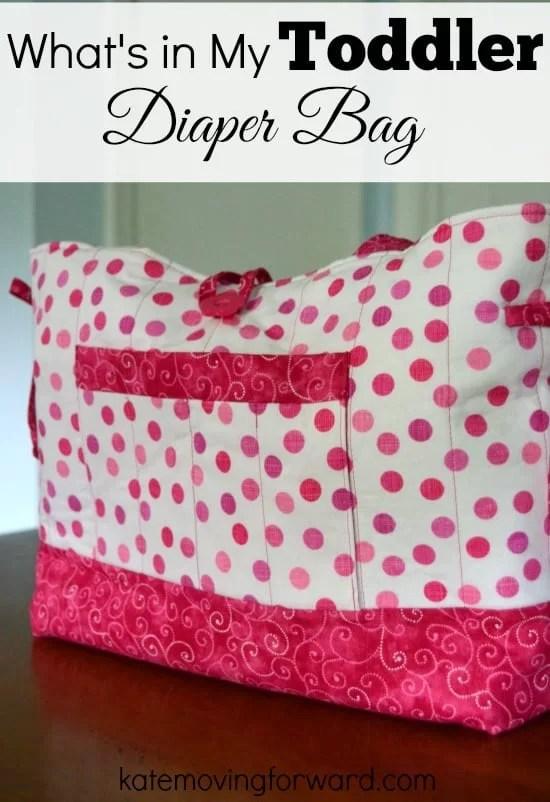 handmade toddler diaper bag