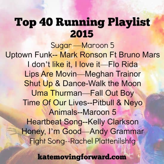 Top 40 Running Playlist
