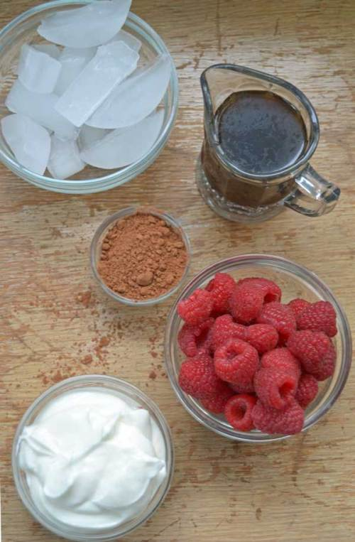 Raspberry Mocha Ingredients