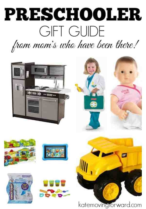 Gift ideas for preschoolers!