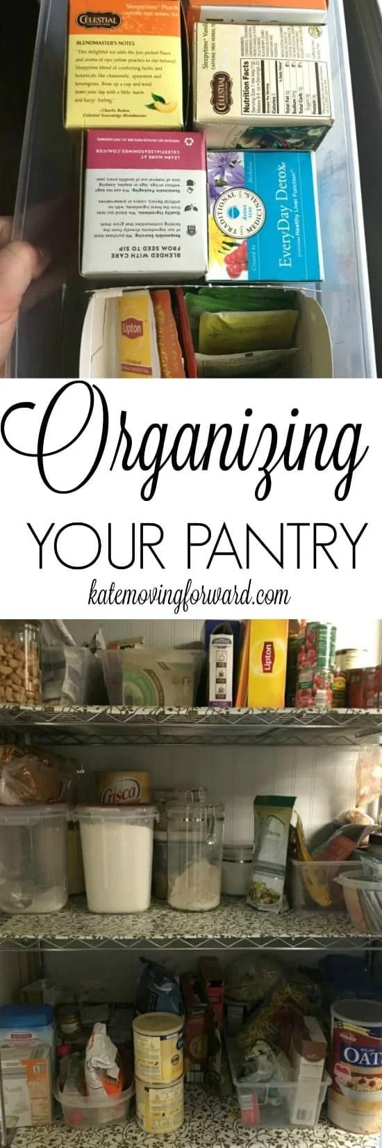 Pantry Organization - Organize Pantry - Organize Kitchen  - Pantry Help - Pantry Organization Ideas