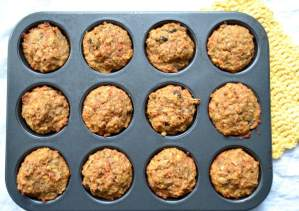 Easy sunrise muffins