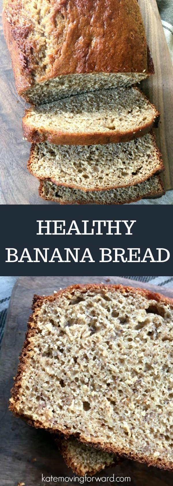 Healthy Banana Bread -