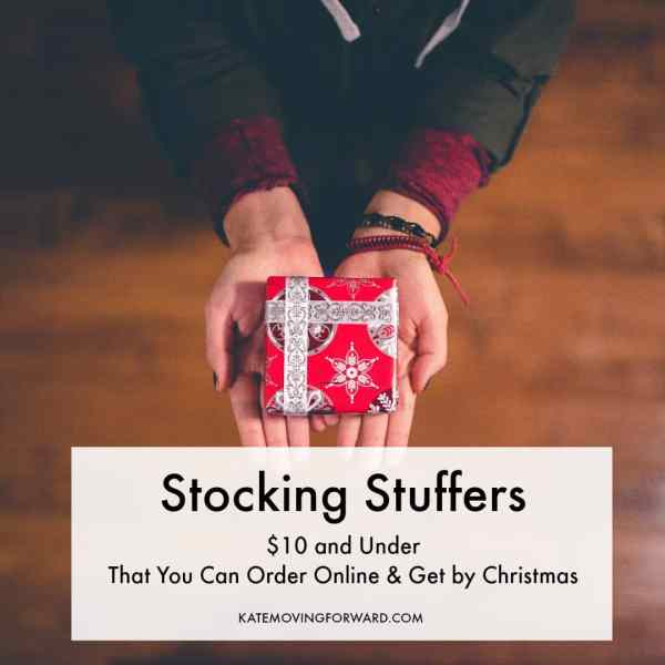 Cheap and thoughtful stocking stuffers you can order on amazon!