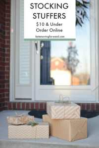 Stocking Stuffer Ideas for Men & Women you can order online for less than $10