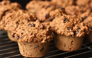 Whole Wheat Low Fat Vegan Bran Muffins (Plantfueled: Photo and Recipe)