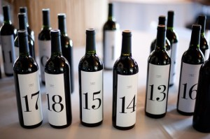 Wine Bottle Advent Calendar