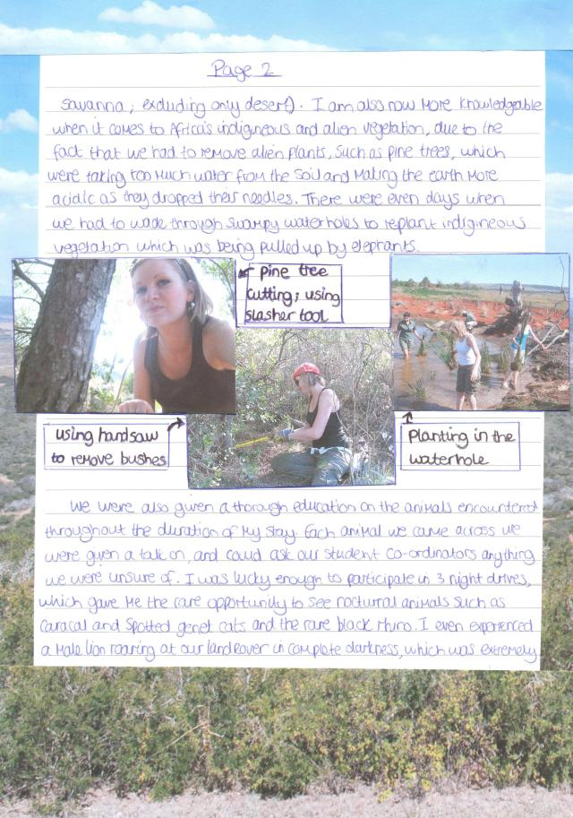 Shamwari Report page 2