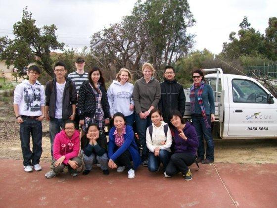 Making friends through volunteering