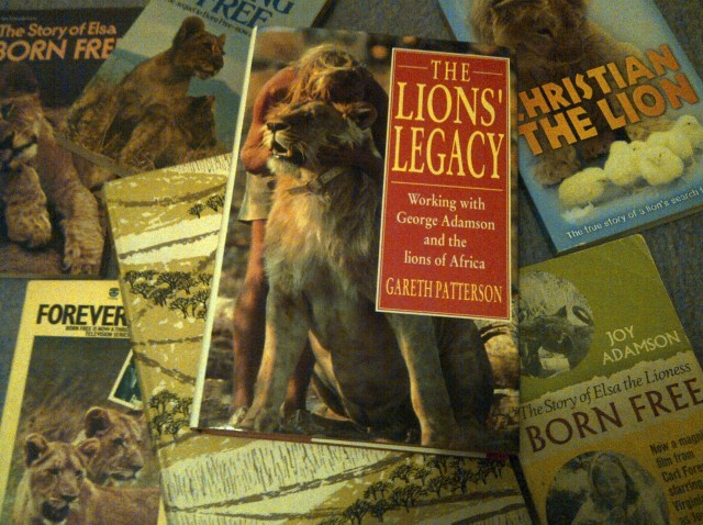 Books about lions in Africa