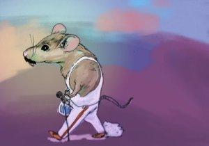 A Freddie Mercury mouse
