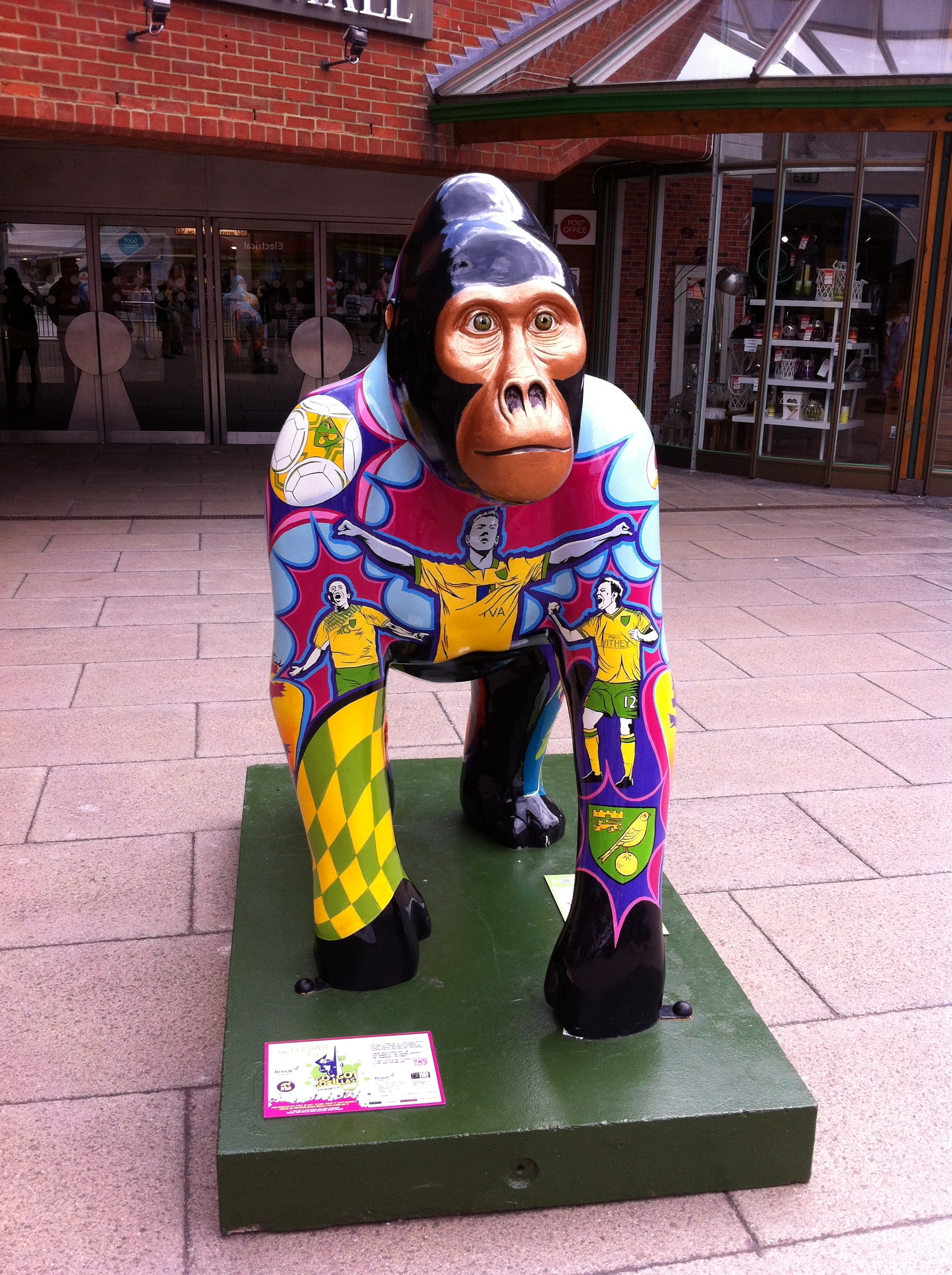 Go Go Gorilla Ivan, the Iconic Norwich Gorilla