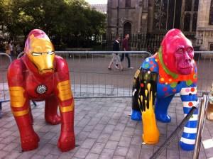 Go Go Gorillas Iron Ape and Gerald - Norwich