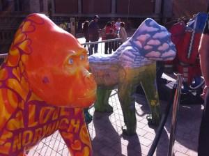Go Go Gorillas Lumley and Lilly Gorilly - Norwich