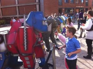 Go Go Gorilla Optimus Primate - Norwich