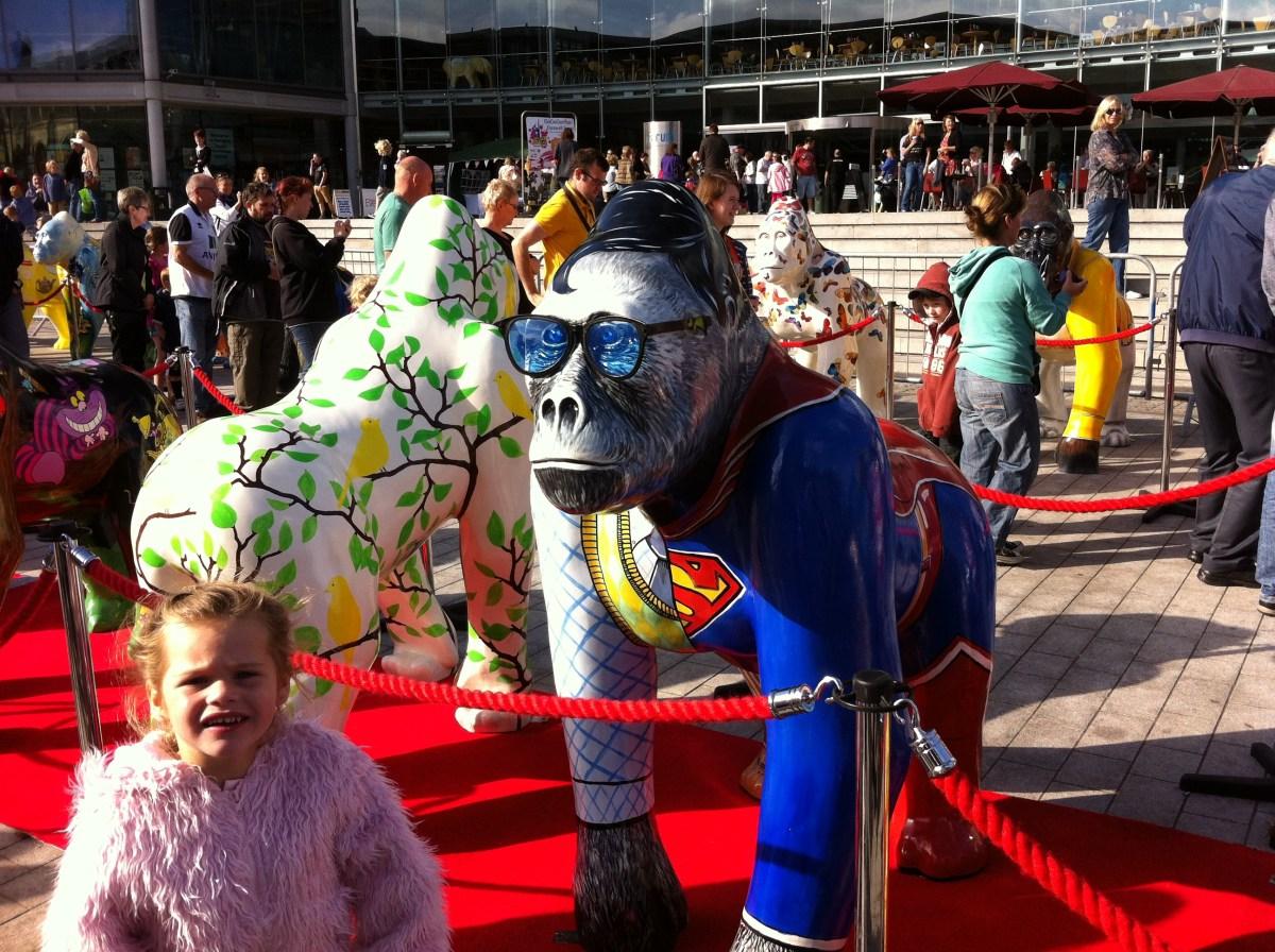 Go Go Gorillas The Ape'd Crusader - Norwich