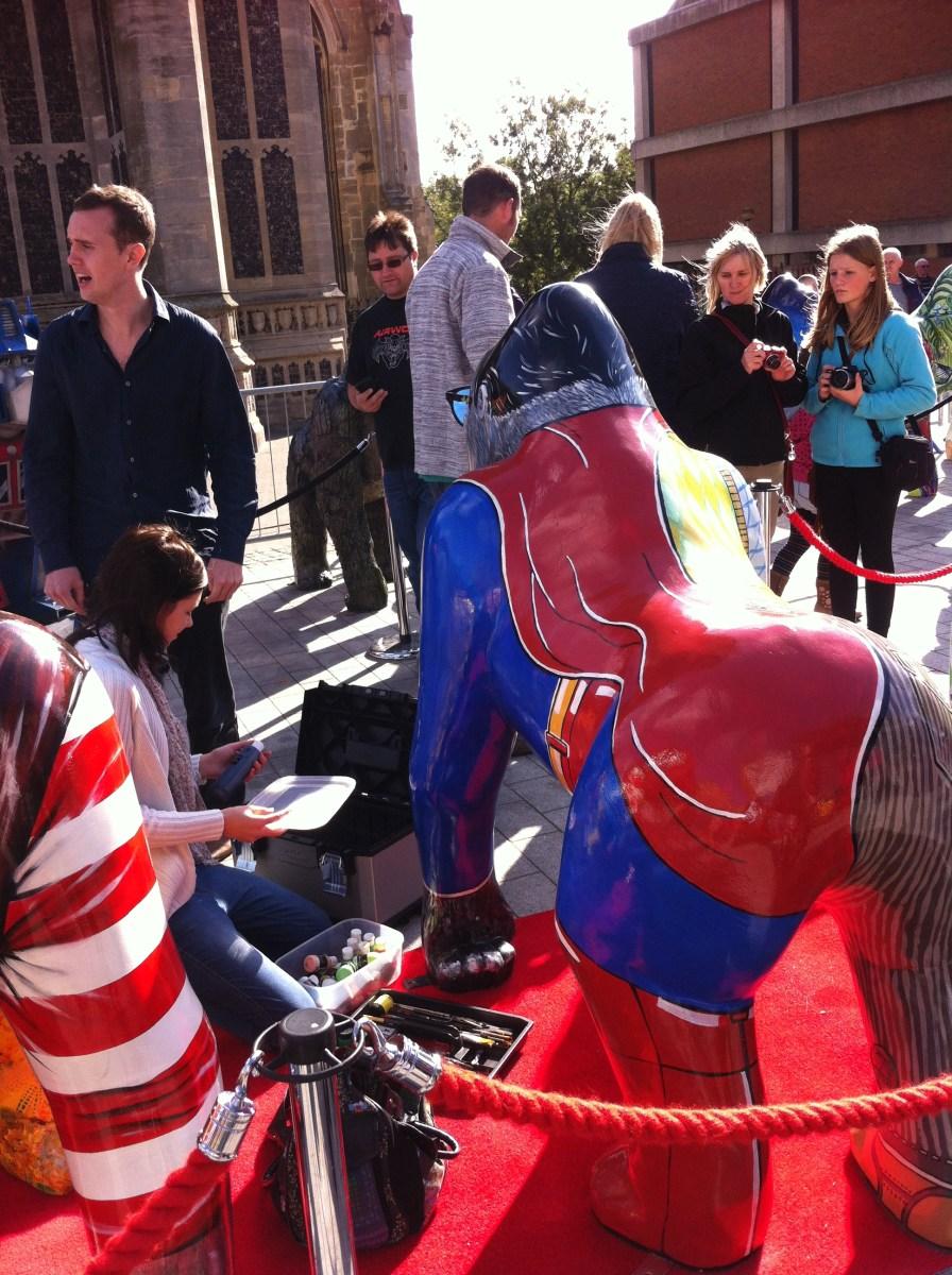 Go Go Gorilla The Ape'd Crusader - Norwich