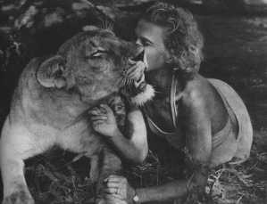 Elsa lioness and Joy Adamson