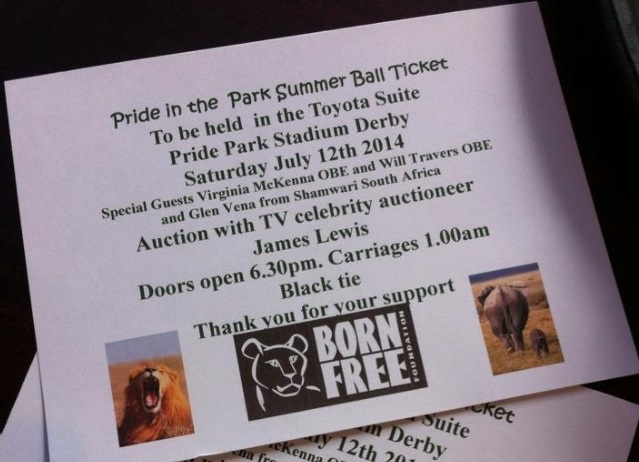 Pride in the park event, Born Free
